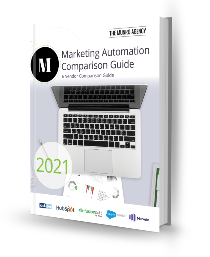Marketing Automation Comparison Guide Book Cover