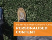 Personalised Content - key to Wider Marketing Funnel